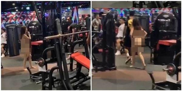 Không cho dắt mèo vào tập gym cùng, cô gái ngang ngược cởi hết đồ đạc đi tới đi lui trong phòng tập khiến ai cũng ngỡ ngàng-1