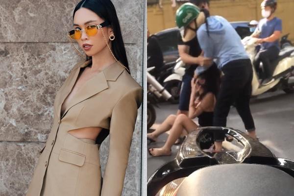Siêu mẫu Hà Anh gây tranh cãi khi bày tỏ quan điểm về vụ đánh ghen đòi Lexus 8 tỉ: Phụ nữ cũng như đàn ông sao phải kìm nén nhau-1