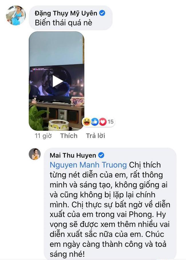 Mạnh Trường cà khịa đồng nghiệp sau tập cuối Tình yêu và tham vọng khiến dân mạng bật cười, dàn sao Việt lại khen tới tấp-4