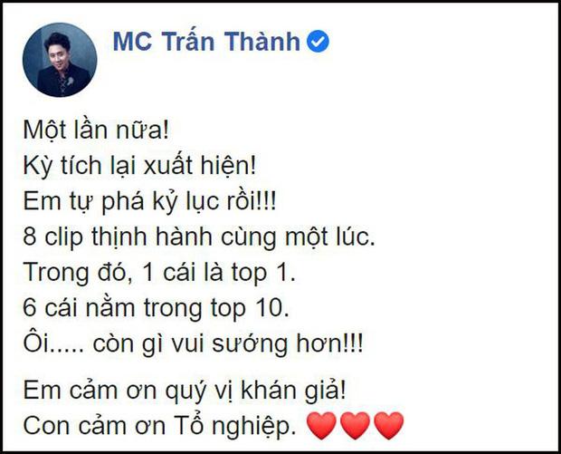 Từ phát ngôn của Trấn Thành, Minh Hằng trên show thực tế, top trending hiện có thực sự quan trọng?-1