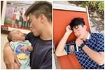 Duy Mạnh lần đầu khoe ảnh chụp cùng con trai cưng, nhưng biểu cảm của bé Ú Béo mới khiến mọi người thích thú