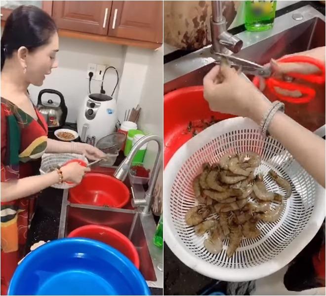 Lần đầu làm gái đảm, công chúa Lâm Khánh Chi được chồng trẻ khen nổ mũi-1