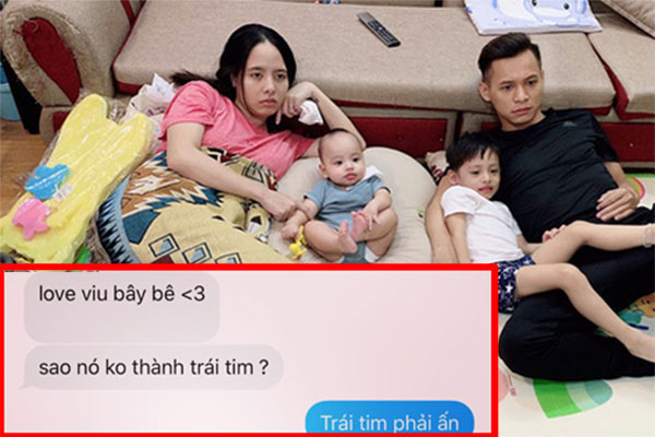 Độ Mixi nhắn tin tình cảm với vợ