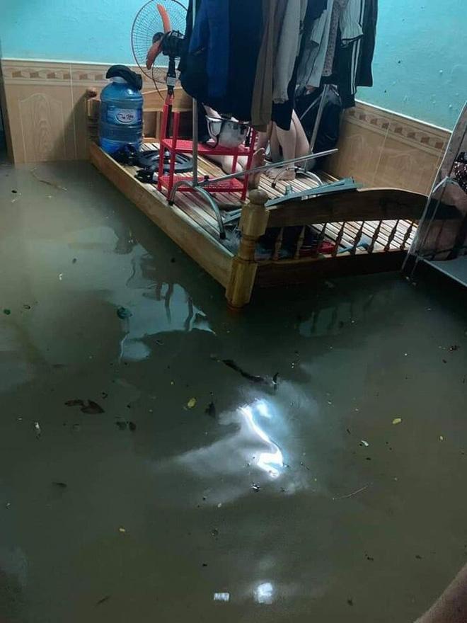 Sinh viên Đà Nẵng khóc ròng nhìn phòng trọ ngập tận mép giường, cả đêm thức trắng tát nước ra ngoài-3