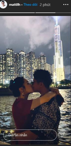 Hot: Hương Giang công khai ảnh khóa môi bạn trai CEO Singapore-2