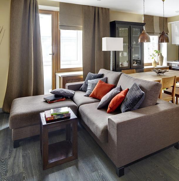 Ai nói ghế sofa bắt buộc phải được kê dựa vào tường? Hãy phá vỡ bố cục truyền thống này để căn phòng rộng rãi và tiện nghi hơn gấp bội-2