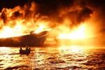 Hỏa hoạn bao trùm 3 tàu, xuồng ở Cam Ranh, thiệt hại ban đầu 14 tỷ đồng
