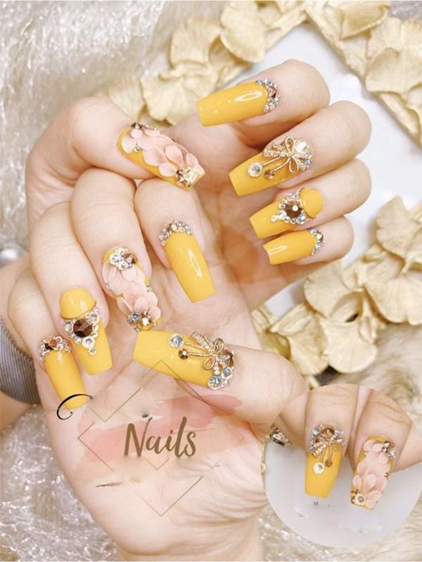 20 mẫu nail xinh đẹp đơn giản nhẹ nhàng dẫn đầu xu hướng hiện nay-8