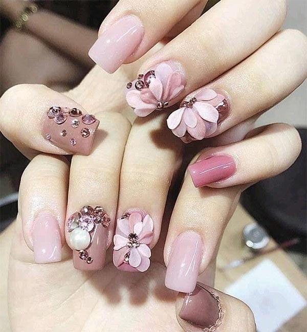 20 mẫu nail xinh đẹp đơn giản nhẹ nhàng dẫn đầu xu hướng hiện nay-11