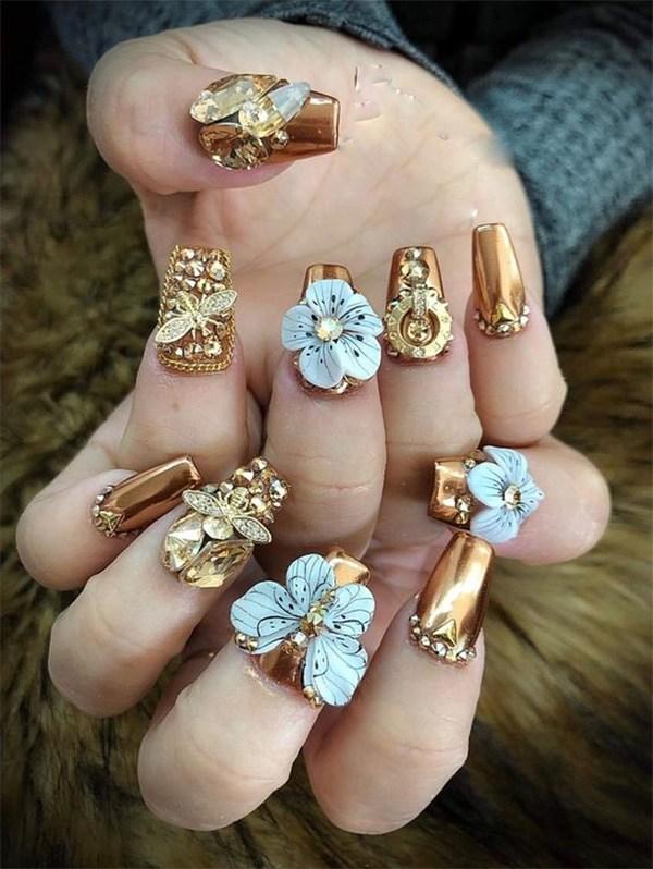20 mẫu nail xinh đẹp đơn giản nhẹ nhàng dẫn đầu xu hướng hiện nay-16