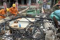 Bão số 5 gây thiệt hại nặng nề, 110 người bị thương, 22.562 ngôi nhà bị hư hỏng