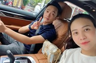 Vợ chồng Cường Đô La trốn con hẹn hò cuối tuần, nhan sắc của mẹ bỉm Đàm Thu Trang gây chú ý