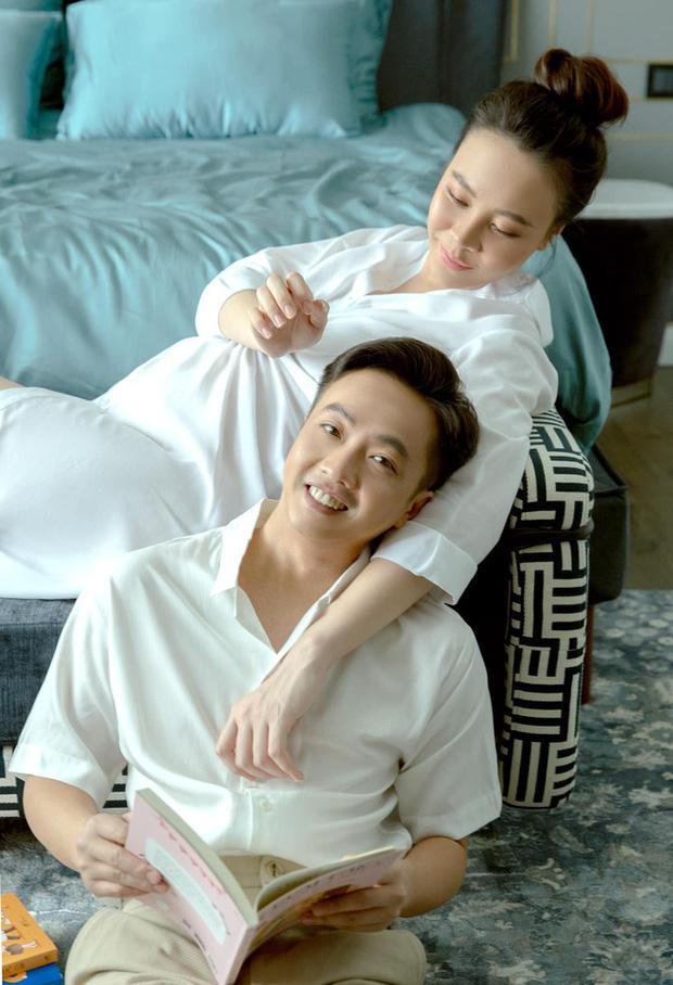 Vợ chồng Cường Đô La trốn con hẹn hò cuối tuần, nhan sắc của mẹ bỉm Đàm Thu Trang gây chú ý-5