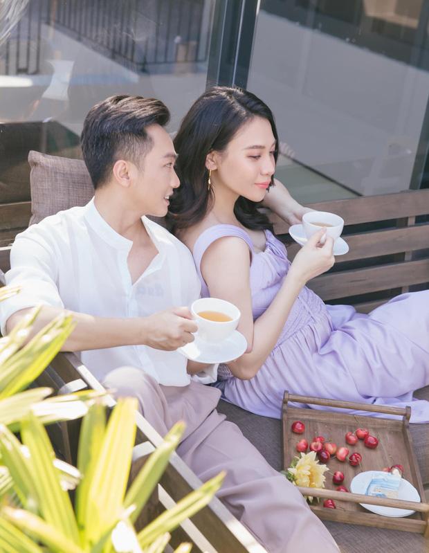 Vợ chồng Cường Đô La trốn con hẹn hò cuối tuần, nhan sắc của mẹ bỉm Đàm Thu Trang gây chú ý-4