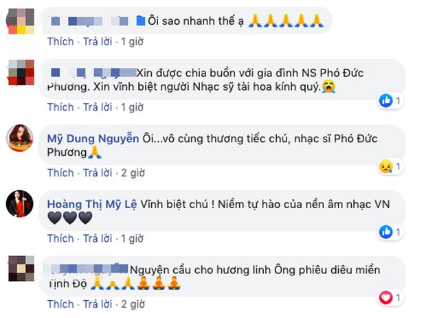 Tùng Dương, Thu Minh và dàn sao Vbiz xót thương khi hay tin nhạc sĩ Phó Đức Phương qua đời: Âm nhạc của ông sẽ luôn sống mãi!-4