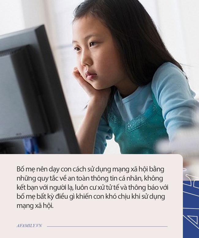 Từ vụ bé gái 11 tuổi mất tích trong đêm: Đừng bỏ qua những lời khuyên dưới đây nếu muốn bảo vệ con khỏi tác hại của mạng xã hội-2