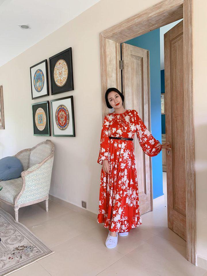 Ốc Thanh Vân ở nhà chăm con mặc bình dân, đổi style theo hội nữ tổng tài liền lên đời-6
