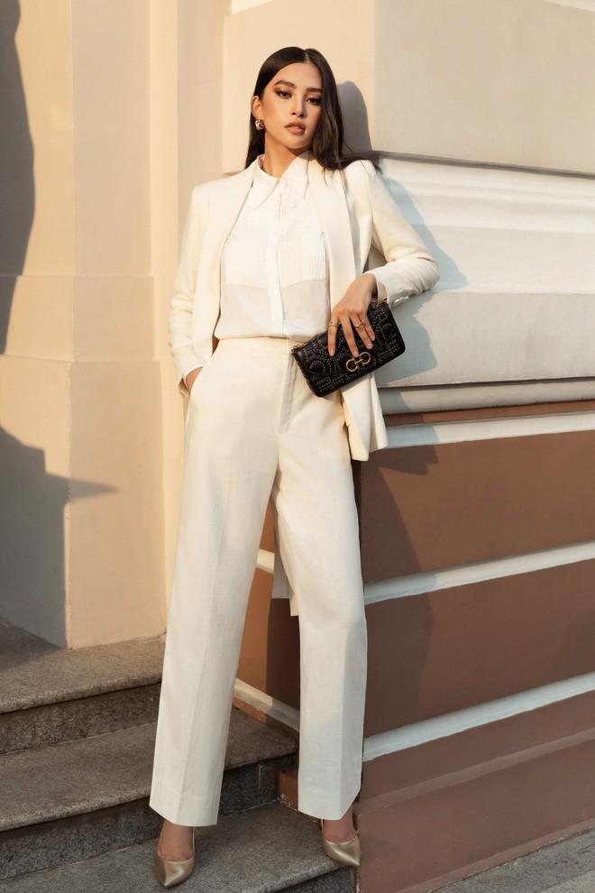Ốc Thanh Vân ở nhà chăm con mặc bình dân, đổi style theo hội nữ tổng tài liền lên đời-14
