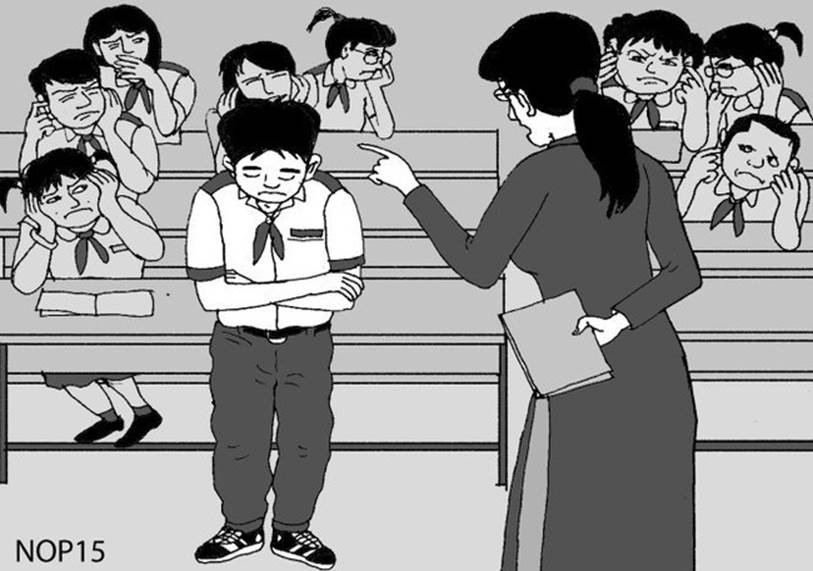 Con gái bị giáo viên mắng sa sả trước lớp, bố đến trường nói chuyện 1 tiếng đồng hồ, câu nói vu vơ cuối buổi khiến cô giáo phải thay đổi-3