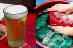 Bia uống dở đừng vội đổ đi, tận dụng theo cách này sẽ thấy thành quả bất ngờ