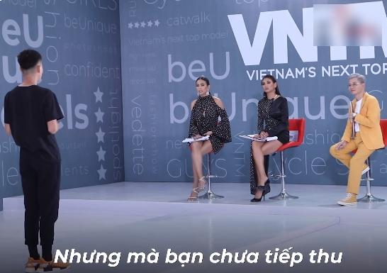 """Vietnams Next Top Model: Nam Trung bỗng hiền"""" không ngờ, lên tiếng nhắc nhở Mâu Thủy điều không nên nói với thí sinh-8"""