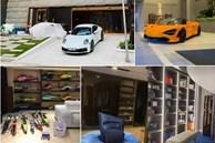 Bên trong biệt thự đồ sộ của Cường Đô la và Đàm Thu Trang: Điểm đặc biệt trong gara ôtô