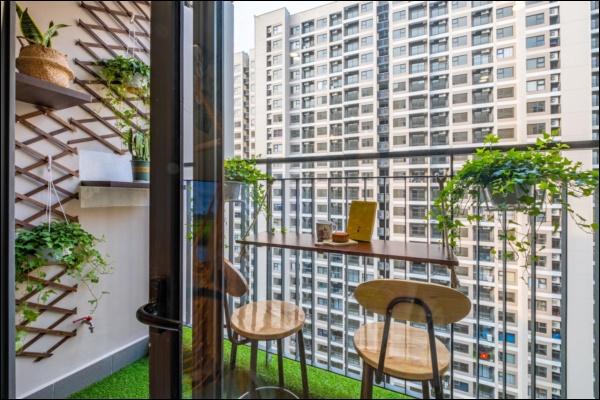 Thời Covid, cải tạo chung cư 43m2 thành homestay đẹp lung linh như trong phim với chi phí siêu tiết kiệm-8