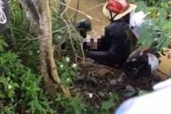 2 học sinh chết cạnh xe máy dưới khe suối