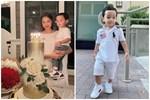 Con trai Phạm Hương sở hữu đôi chân dài miên man giống hệt mẹ, nhìn cậu ấm mà ngưỡng mộ cách nuôi con của 'Hoa hậu quốc dân'