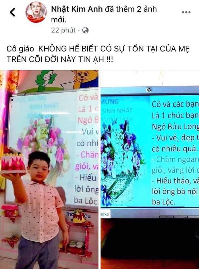 Hết tố cáo chồng cũ, Nhật Kim Anh lại bức xúc luôn với cô giáo của con trai-1