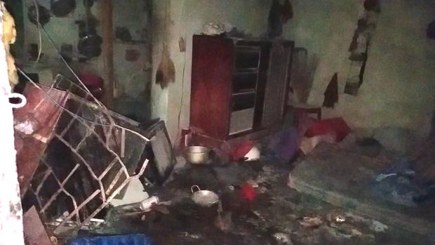 Phòng trọ bốc cháy sau khi người đàn ông đi nhậu về-1