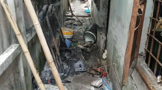 Phòng trọ bốc cháy sau khi người đàn ông đi nhậu về-2