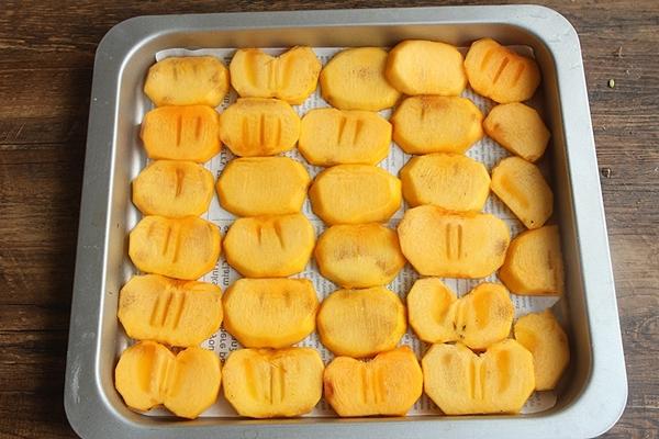 Hồng sấy dẻo - món ăn vặt chân ái của các chị em nay đã có cách làm vừa dễ lại siêu ngon và để dành được rất lâu-3
