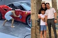Dạy con như Cường Đô la: Cậu cả Subeo được sống giàu có chuẩn 'rich kid' vẫn rửa xe ô tô cho bố, nhiều người phải 'ố á' thán phục