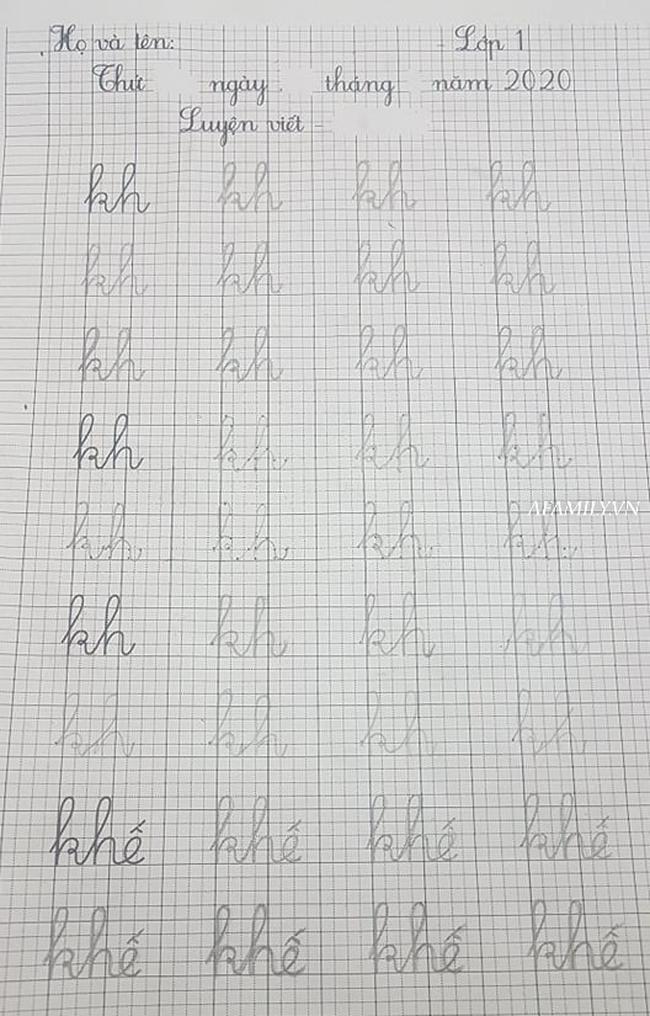 Con vào lớp 1: Học đến 11 rưỡi đêm, tay cầm bút viết run run vẫn vật lộn với bài tập về nhà, tôi có nên thừa nhận mình thất bại?-5