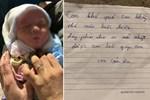 Bé gái sơ sinh bị bỏ rơi trong thùng rác kèm lời nhắn 'con khổ quá con không nuôi được'