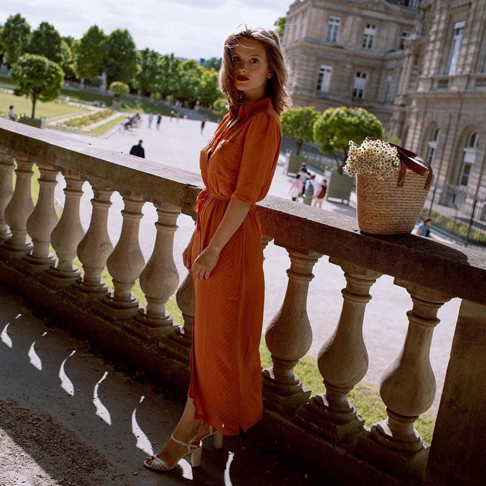 Trời se lạnh mà quẩy váy dáng dài là style sẽ yêu kiều như gái Pháp, điểm sang chảnh cũng tăng ngùn ngụt-5