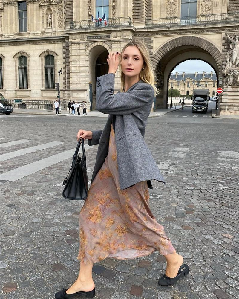 Trời se lạnh mà quẩy váy dáng dài là style sẽ yêu kiều như gái Pháp, điểm sang chảnh cũng tăng ngùn ngụt-6