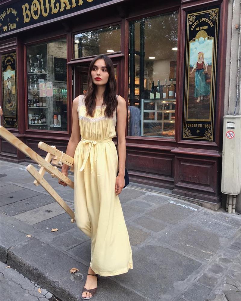 Trời se lạnh mà quẩy váy dáng dài là style sẽ yêu kiều như gái Pháp, điểm sang chảnh cũng tăng ngùn ngụt-8