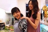 Mẹ chồng nấu ăn cho bà bầu Thuý Vân, truyền luôn 'bí kíp' ăn gì để bé cao, da trắng