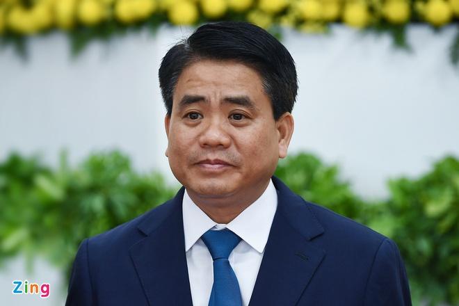 Chuẩn bị miễn nhiệm chức Chủ tịch Hà Nội đối với ông Nguyễn Đức Chung-1