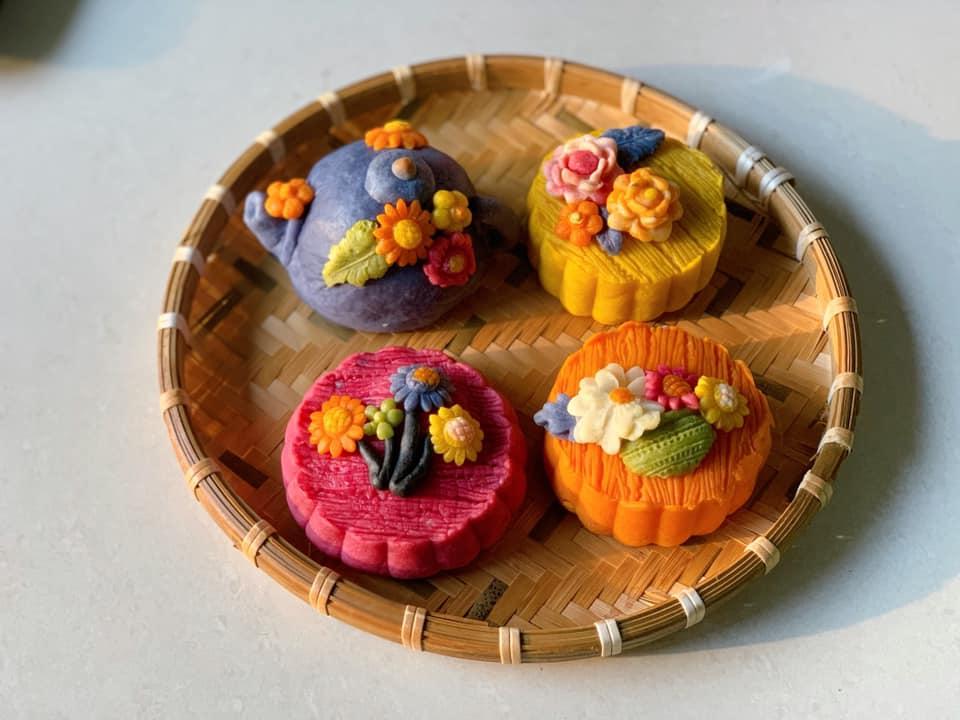 Những cách làm bánh Trung thu handmade từ rau, củ, quả chuẩn vị tự nhiên - an toàn mà vẫn đẹp mắt khiến chị em đứng ngồi không yên-7