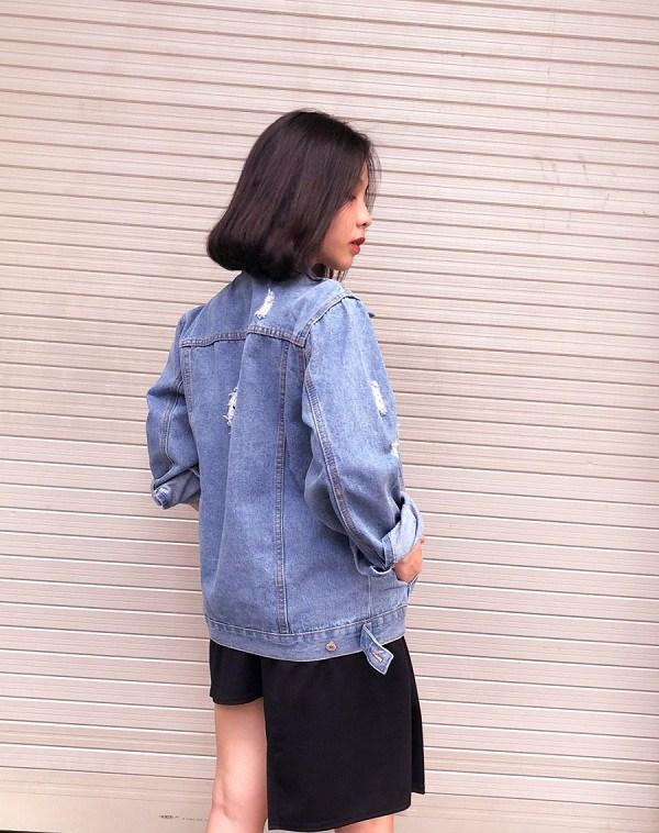 Kiểu áo khoác cá tính được dàn mỹ nhân Việt ưu ái, diện vào mùa thu là chuẩn xinh-14