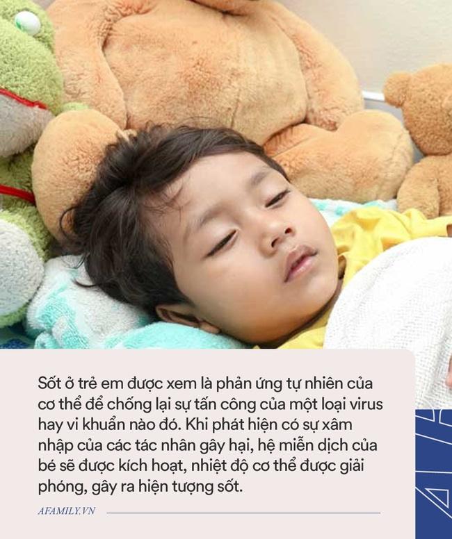 Bác sĩ bệnh viện Nhi chia sẻ những sai lầm khi xử trí bé sốt tại nhà nhiều bố mẹ mắc phải-2