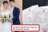 Dâu 'hụt' tố mẹ chồng đòi nhà gái 'cho' 2 tỷ đồng mới đồng ý đám cưới, sinh con được 2 tháng thì chồng ngoại tình và loạt tình tiết không tin nổi