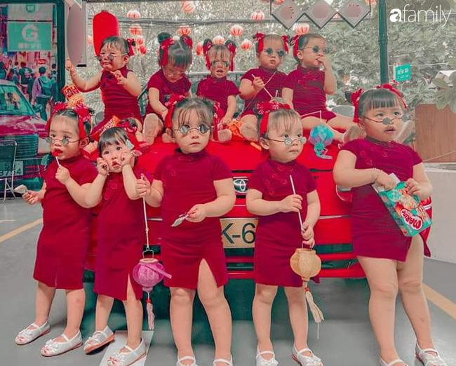 Biệt đội nhà đông con ở Sài Gòn đi đâu cũng rực rỡ, xuất hiện chỗ nào là gây náo loạn chỗ đó-1