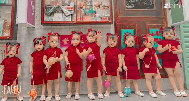 Biệt đội nhà đông con ở Sài Gòn đi đâu cũng rực rỡ, xuất hiện chỗ nào là gây náo loạn chỗ đó-4