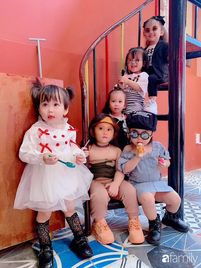 Biệt đội nhà đông con ở Sài Gòn đi đâu cũng rực rỡ, xuất hiện chỗ nào là gây náo loạn chỗ đó-8