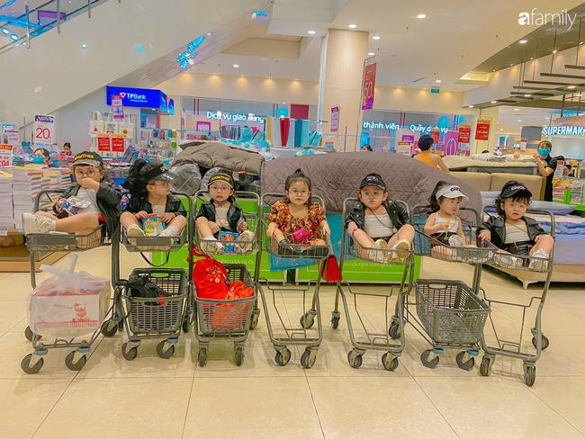 Biệt đội nhà đông con ở Sài Gòn đi đâu cũng rực rỡ, xuất hiện chỗ nào là gây náo loạn chỗ đó-9
