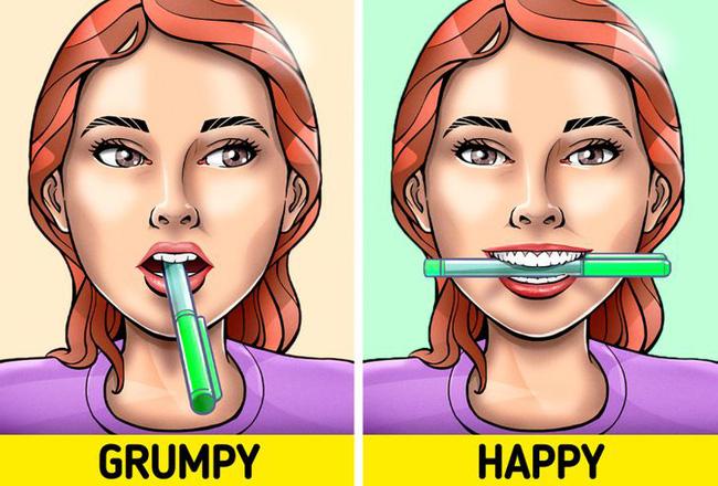 Ngậm 1 cây bút chì ngang miệng có thể khiến bạn hạnh phúc hơn, hóa ra nguyên nhân lại đơn giản đến thế-4